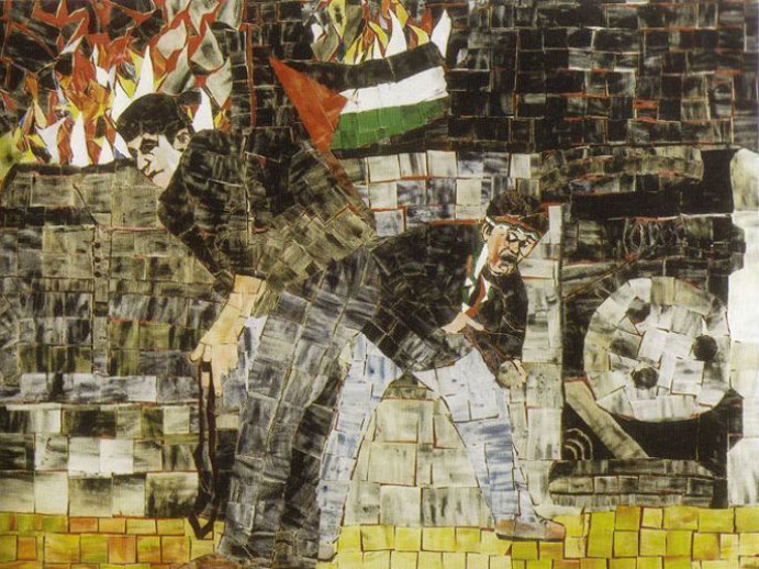 שברים   פסיפס ואקטואליה זמן לאמנות- מרכז לאמנות ישראלית, תל-אביב