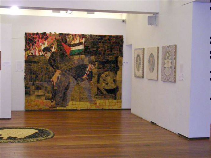 שברים | פסיפס ואקטואליה זמן לאמנות- מרכז לאמנות ישראלית, תל-אביב
