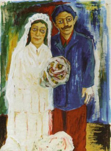 שפה זרה | אסד עזי ומאיר פיצ'חדזה הגלריה לאמנות אום אל-פאחם