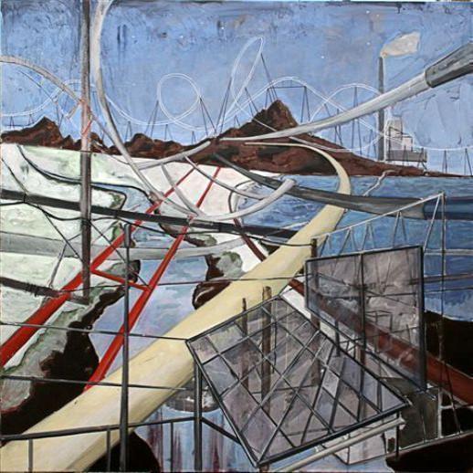 אחרי השרב | טקסט נלווה לתערוכת יחיד לצייר אלעד קופלר גלריה טבי דרזדנר