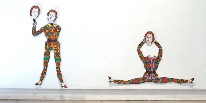 נייר עבודה | סלי קירסטל-קרמברג וליאת לבני, דמותו של האמן כאנטי גיבור, גלריה החדר, ספטמבר - אוקטובר 2010